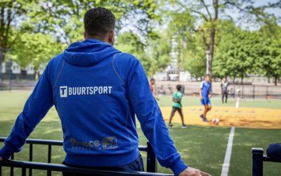 Buurtsport wekelijks aanwezig in Spoorpark