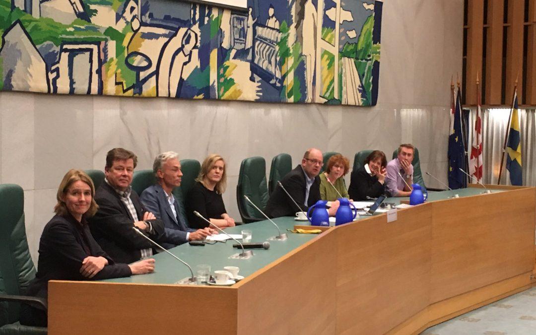 Steun en complimenten voor plannen Spoorpark in Tilburgse raad