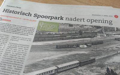 Historisch Spoorpark nadert opening