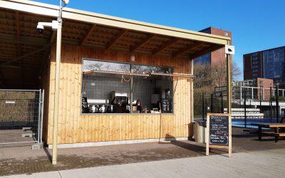 Kiosk aan Oostzijde park geopend