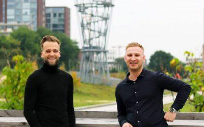 Jasper en Roel nieuwe ondernemers in T-huis