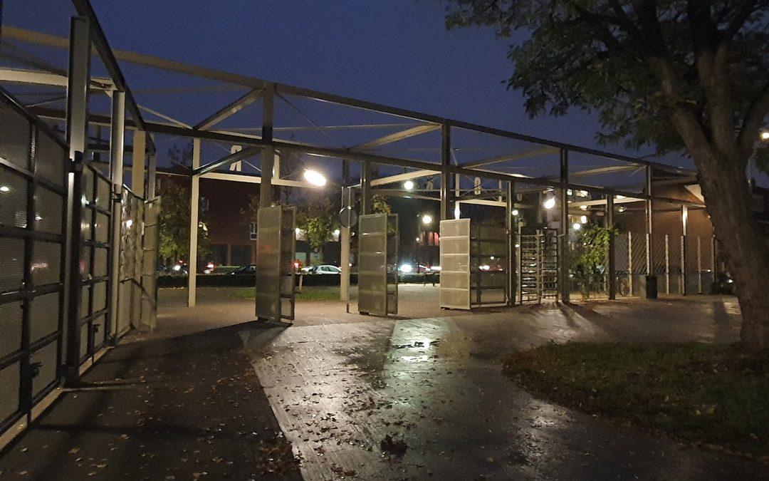 Spoorpark vanaf vandaag dagelijks om 19.00 uur gesloten
