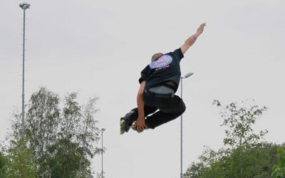 Skatecamp op Stadscamping in laatste weekend zomervakantie