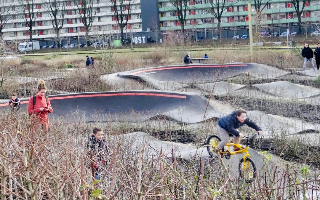 Camera bewaakt Urban Sports Area