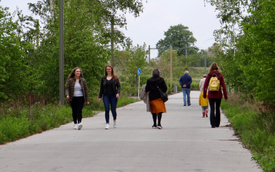 Spoorpark daagt uit tot beweging: 'Bewegen is goed, meer bewegen is beter!'