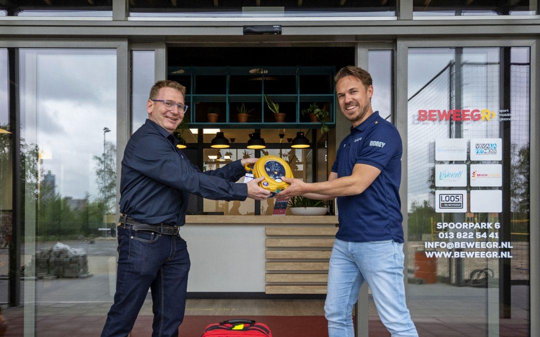Twee AED's geplaatst in het Spoorpark