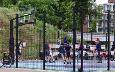 Basketbalveld weer open vanaf 3 maart