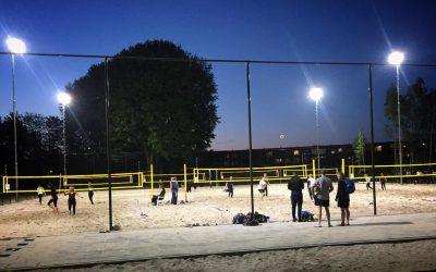 Beach Tilburg heeft primeur voor het Spoorpark; competitie gestart!