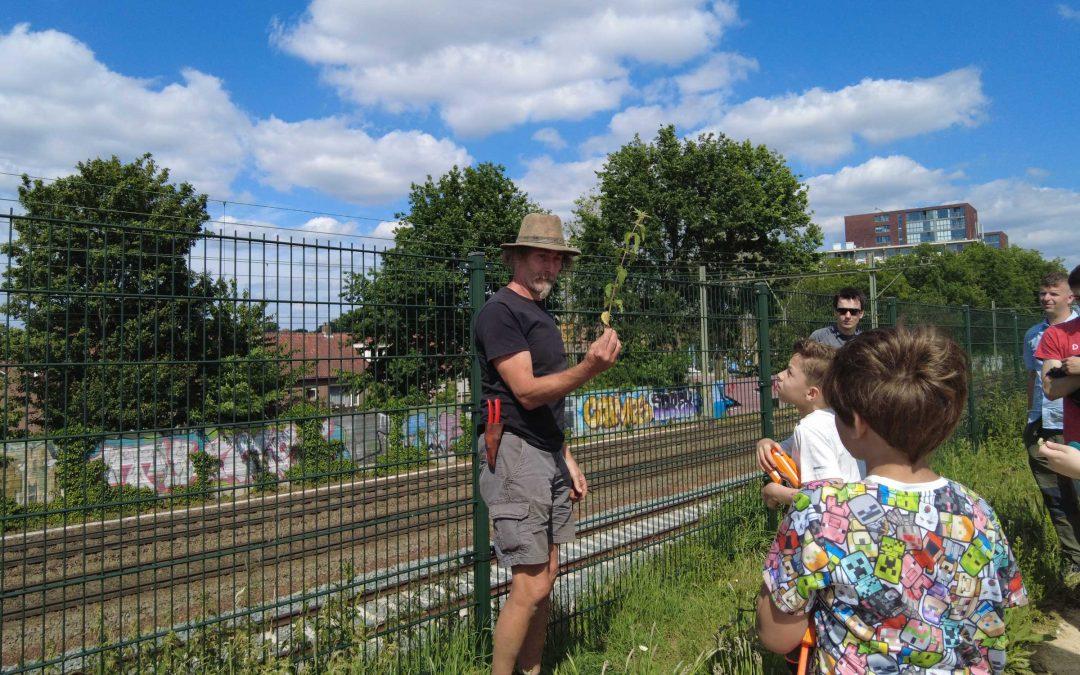 Brabant Maatjes 'bushcraften' in Spoorpark