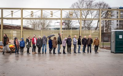 Stadscamping Tilburg start crowdfunding voor bouw sanitair-wagon
