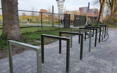 Extra fietsenstalling bij ingang Zuid – Zet je fiets buiten het park!