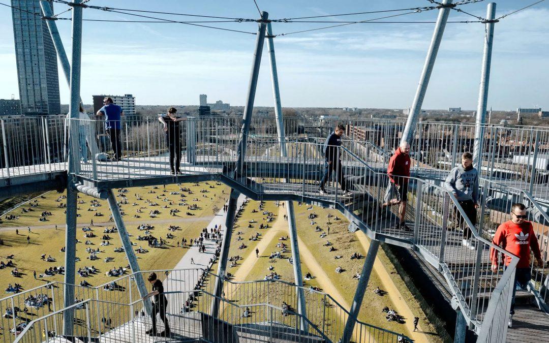 Het Spoorpark in Tilburg laat de toekomst van parken zien
