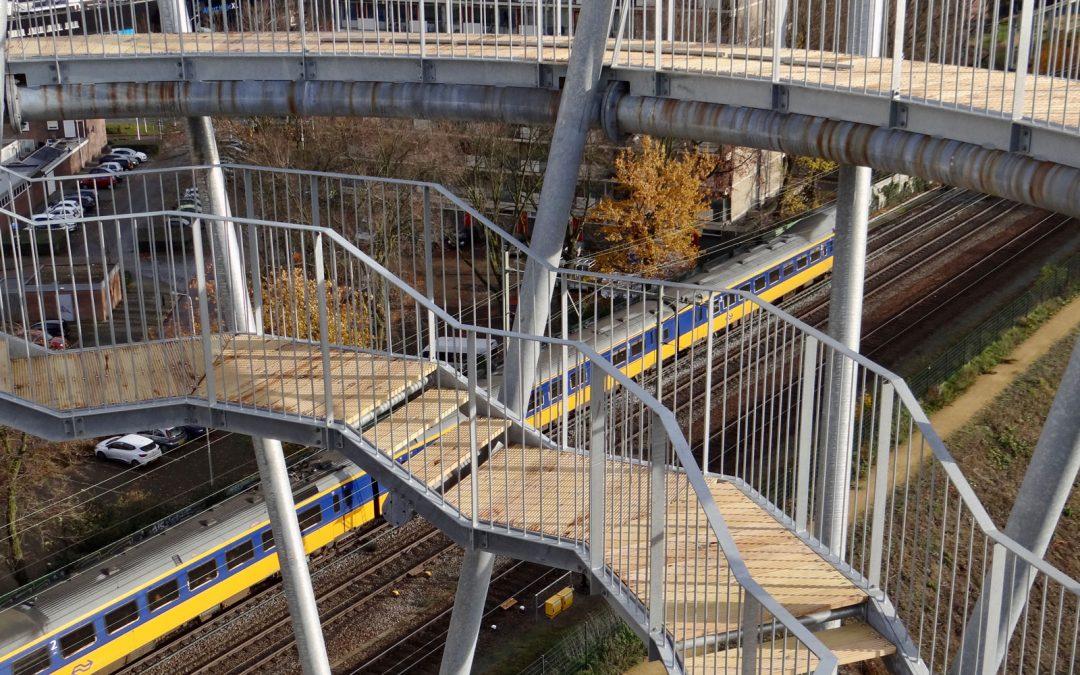 Spoorpark zoekt vrijwilligers zonder hoogtevrees