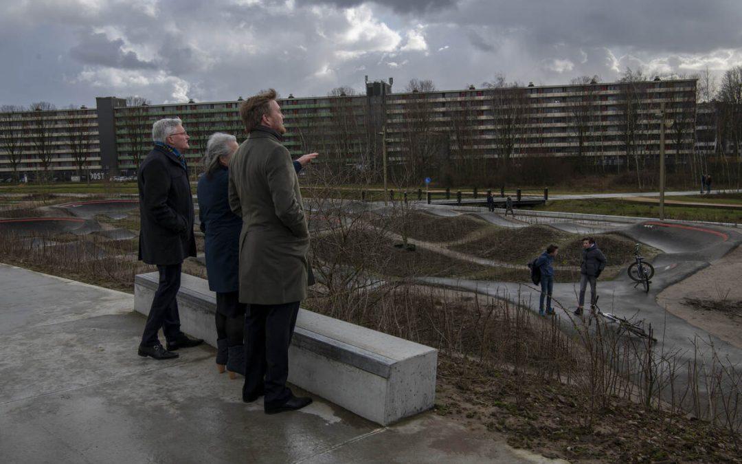 Spoorpark in beeld: Veel aandacht voor bezoek Koning Willem-Alexander