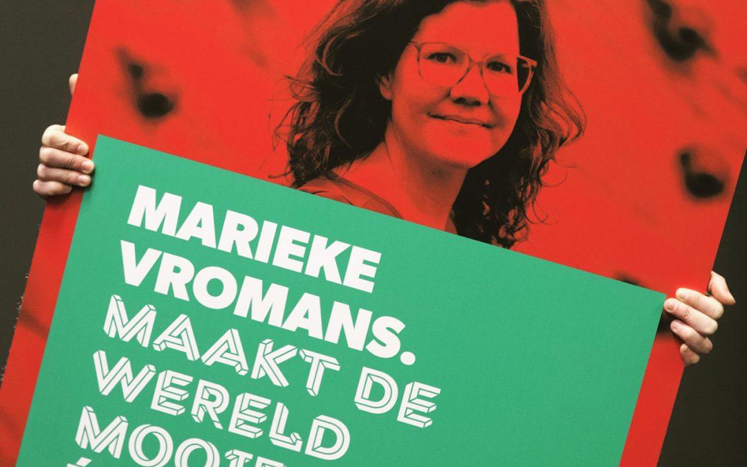 Marieke Vromans wint publieksprijs Brabant Cultuur