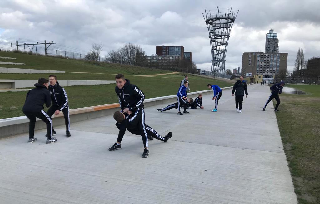 ROC Sport en Bewegen kiest Spoorpark als examenlocatie