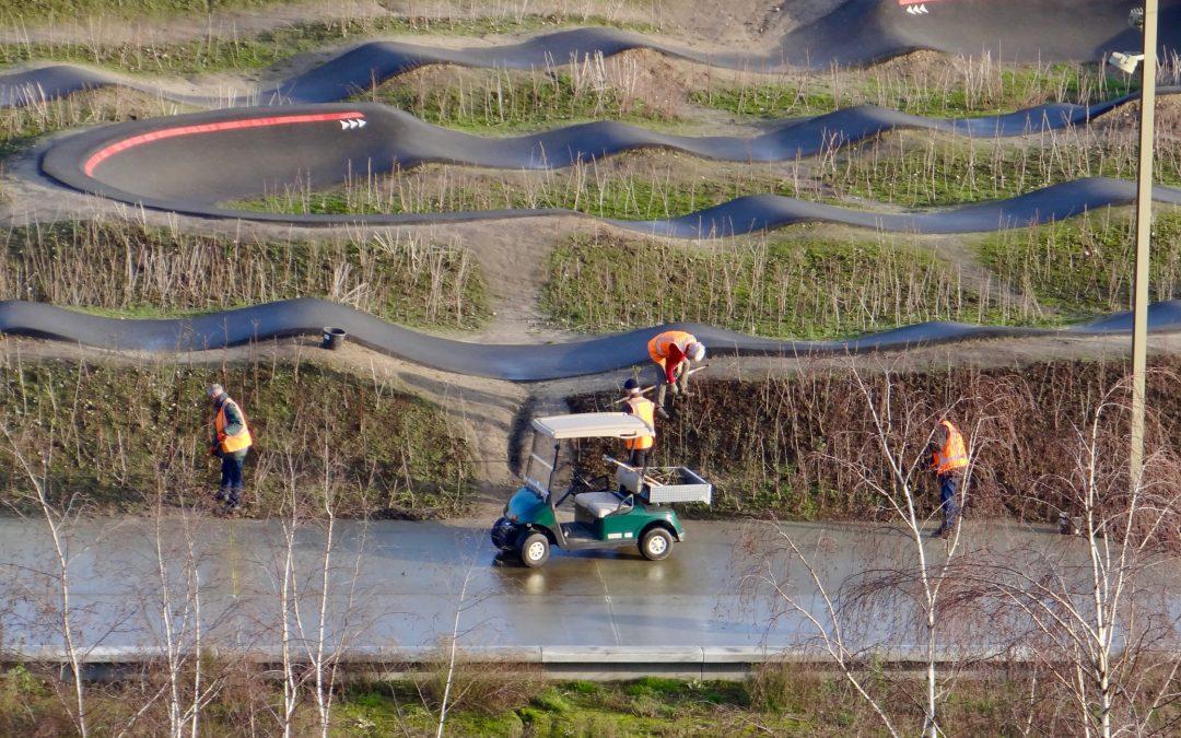 Spoorpark in beeld: Groenvrijwilligers aan het werk
