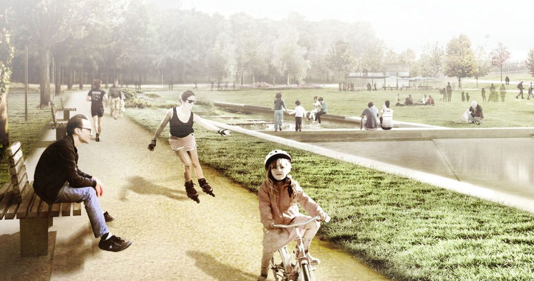 Spoorpark biedt Tilburg een park van formaat