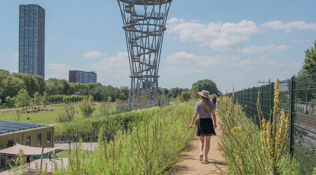 'Spoorpark meest verrassende stadspark van Brabant'