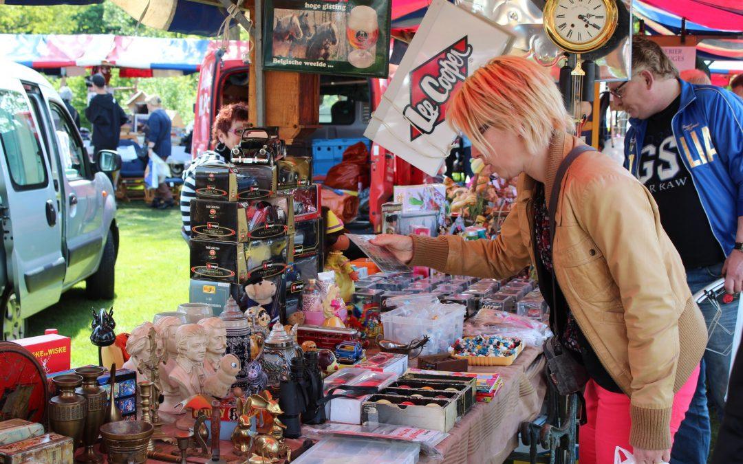 Zondag 1 oktober vlo-markt op Spoorpark terrein